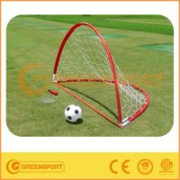 Red Portable Pop-up Soccer Goal with High Quality