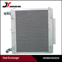 Oil Cooler Welded Type Heat Exchanger For Hyundai R60-7 Excavator Radiator