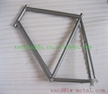 titanium road bike frame with sanding blast finished road bike with normal specs  titanium bike frame