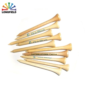 2018 promotion hotsale customize colourful advertise cheap 83mm bulk wood golf tee