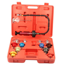 Car Radiator Water Pressure Test Kit 14 pcs Cooling System Tester For Vehicle