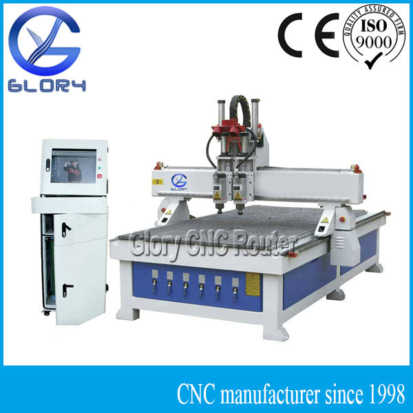 PC Based Controller Wood Door CNC Router