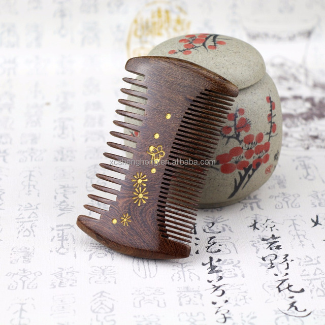 Handmade Double Side Fine Tooth Pocket Comb Hair and Beard Comb