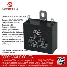 3 terminal feed through cbb61 370vac 1mf capacitor