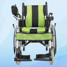folding power electric wheelchairs with big wheels
