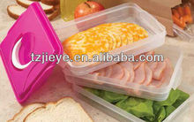 picnic plastic multilayer food container