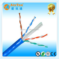 Hot sale fluke test 4 pair 23awg copper utp cat 6 cable