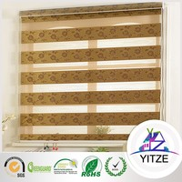 High quality and reasonable price jacquard fabric roller blinds/ curtain