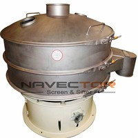 Circular Sieving Screen Machine For Fish Powder--Navector Rotary Sieve