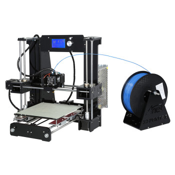 Printer size 220*220*250mm High Quality Precision Reprap Prusa i3 DIY 3d Printer kit with 1 Roll Filament 16GB SD card and LCD