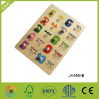 Educational Wooden Puzzle Baby Toy