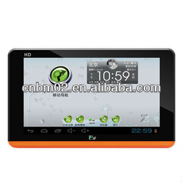 7 inch Android GPS Navigation with DVR function, 512MB RAM, 8G Flash Memory, Back camera
