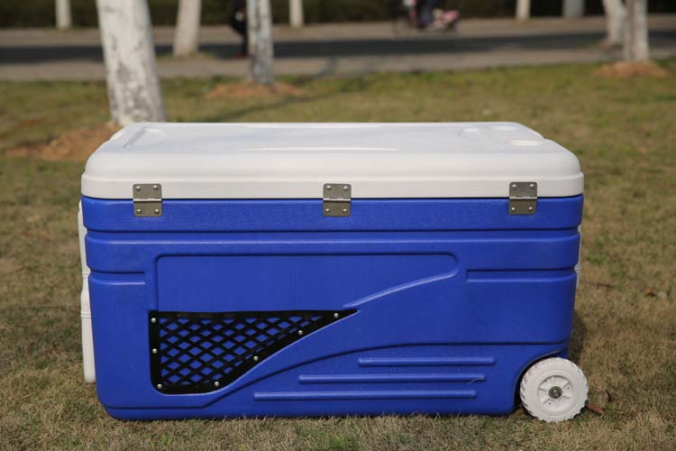 130L Warm and Cold Storage Solar Aussie Box Coolers Ice Cooler Box with Wheels(MTU130)