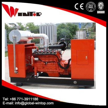 China supplier 50kw water cooled biogas generator price