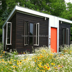 12 Square Meter FRSTECH wpc prefab houses for sale / wood plastic composite houses / container house