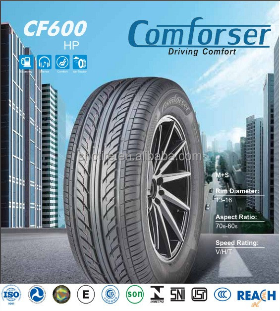 Cheap new radial passenger car tire for India market with BIS approved