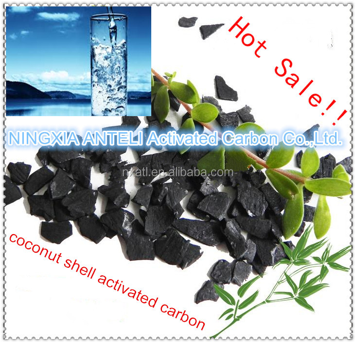 coconut shell activated charcoal in drinking water filter