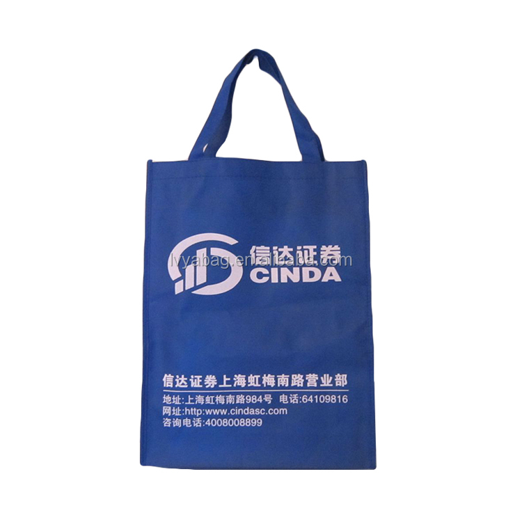Custom Durable Top quality With lamination outside or inside colorfull non woven shopping bag