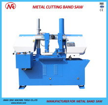 Heavy duty horizontal metal cutting use band saw machine