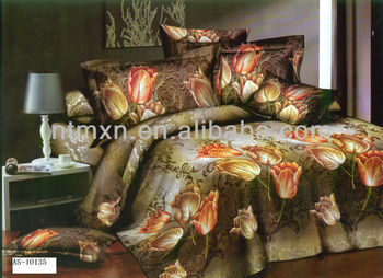 photo printed bedding set,3d printed,hot sale!!!