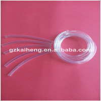 Clear plastic tube non shrinkable PVC insulation tube for electrical wire