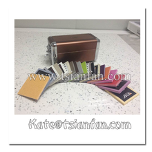 PX125---Marble tile sample display showcase
