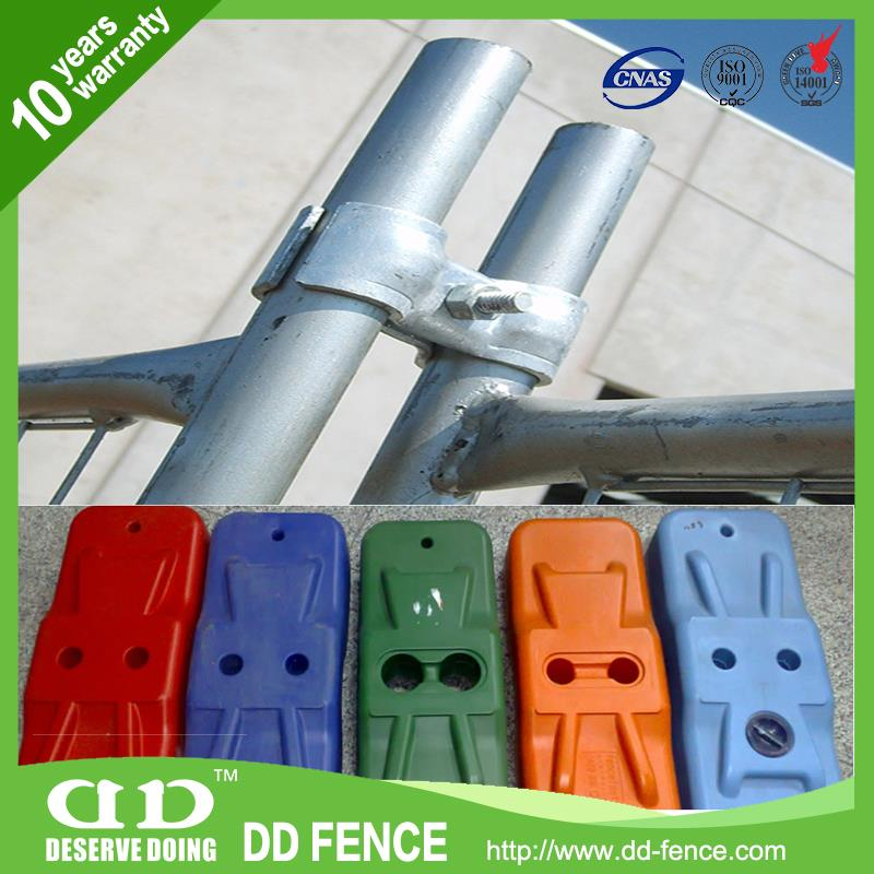 Construction Barrier Fence / Temp Fencing For Dogs