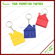 Promotional Cheap House Shape Tape Measure, 0402010 MOQ 100PCS One Year Quality Warranty
