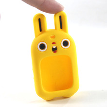 Wholesale rubber smart watch cases for kids with lovely ears Sedex 4-Pillar Audited supplier