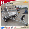 Galvaized 2 or 4 wheel utility trailer with kits