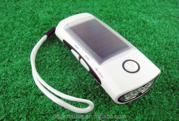 Low price FM solar radio 3 led solar torch