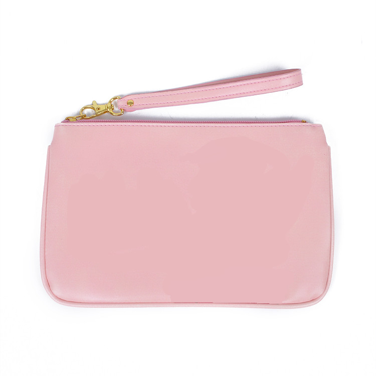 Latest ZQ-B-081 Dongguan PU factory manufacture BSCI portable custom promotional funky cosmetic makeup bag