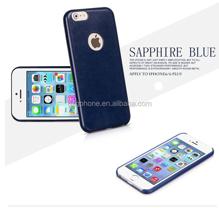 Newest Arrival Leather Case For iPhone6 plus Official Ultra thin Cover