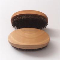 Custom Logo Wooden Beard Brush Beard Comb hair comb Kit