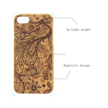 Eco-friendly Wood Cork Mobile Phone Accessories for iPhone X for iPhone 7 Unique Printing Wooden Phone Case for Apple