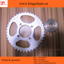 45# motorcycle sprocket and chains kit for wholesale