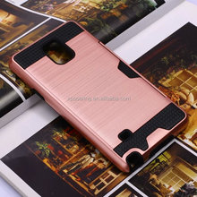 Dual layer shockproof case back cover for Samsung Galaxy Note 3 Note 4