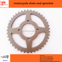CD70 motorcycle spare parts 420 chain and sprocket kits