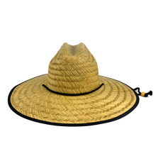 Most Customers Order Styles Black Underneath Fabric Straw Lifeguard Hats For Safari