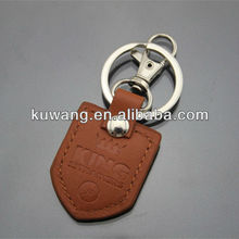 Hot Selling Cheap PU Leather Key Ring