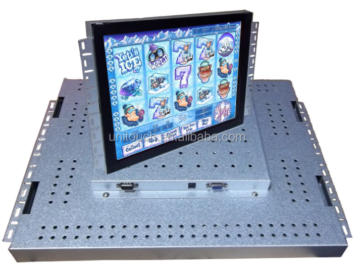 open frame monitor/touch monitor/embedded lcd Pot O Gold ,wms. igt Game Use Touch LCD Monitors POG/WMS/FOX340 game board use