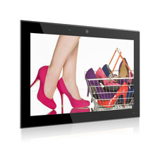 10.1 inch enclosure android kiosk tablet with IPS screen