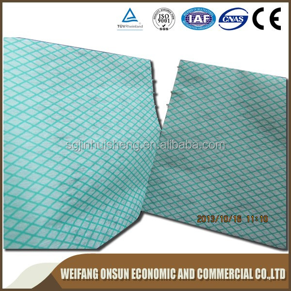 Home Textile Fabric Chemical Bonded Nonwoven Kitchen Paper Towel Manufacturer