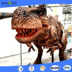 Innova- Mini Golf Playground Prop Life Size Dinosaur Costume with <strong>Video</strong>