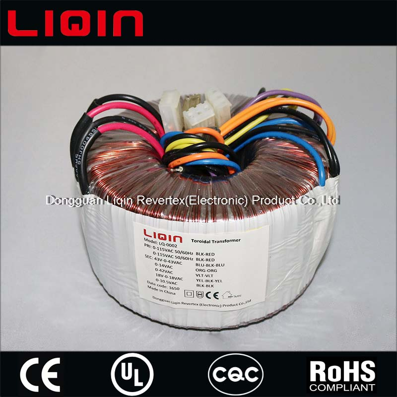 1500w Toroidal Power amplifier Transformer for audio amp