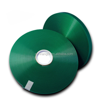 "Waterproof 1"" dark green plastic coated nylon webbing"