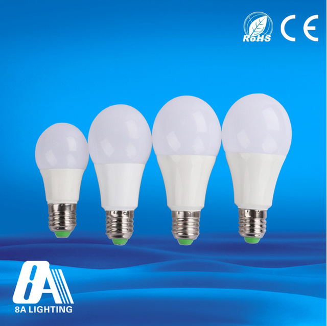 Led bulb raw material e27 3W 5W 7W 9W 12W led light bulb parts with CE