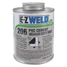 plastic pvc cement glue wet and dry