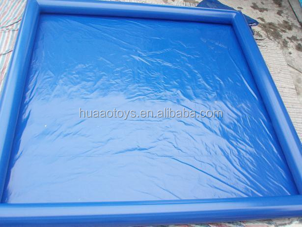 2015 inflatable square swimming pool malaysia