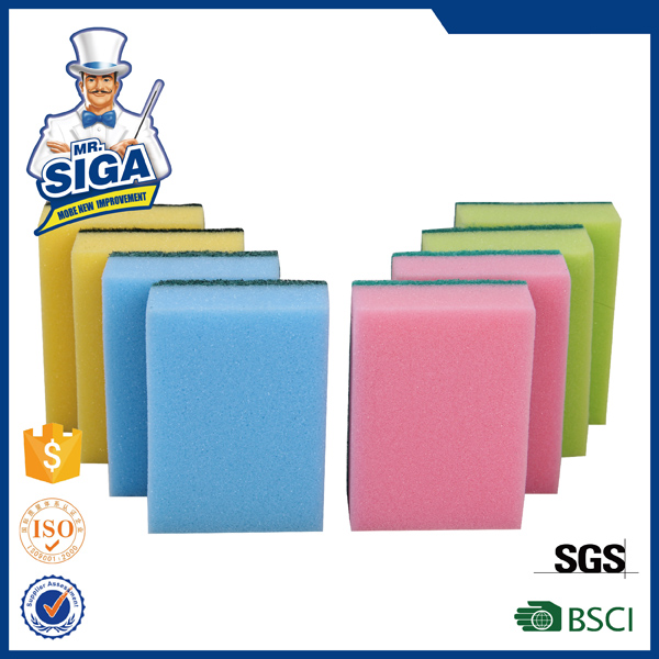 Mr.SIGA hot sale 8PK dish scouring pad material